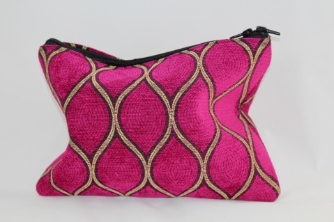 Dutchess Clutch, the first clutch hand-sewn by Tori